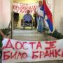 Протест ратних инвалида у ДОМ-у РВИ под слоганом: Стоп криминалу у ДОМ-у РВИ