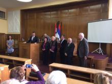 УРМВИ Србије присутвовало додели награда фондације Драгојло Дудић и СУБНОР