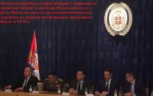 Стефановић и Вулин одржали састанак са претставницима борачких удружења и удружења пензoнисаних припадника МУП-а и Војске