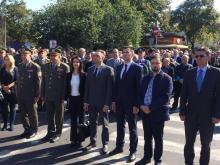 Министри Ђорђевић и Вулин открили споменик хероју Милану Тепићу